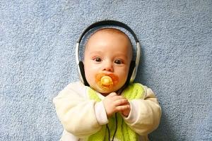 Новорожденный и музыка