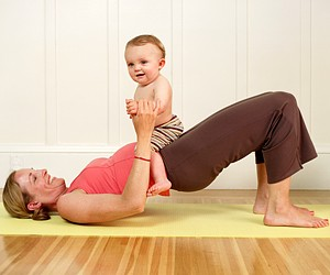 Упражнения для похудения после родов