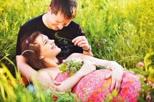 Прогулки с беременной женой
