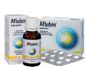 Афлубин при беременности: информация о препарате