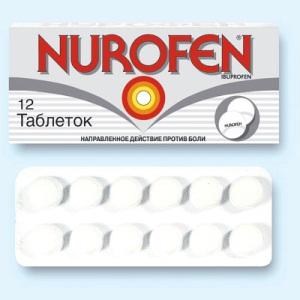Нурофен при беременности: информация о препарате