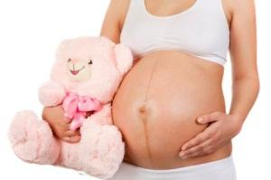 Опущение живота - один из признаков скорых родов