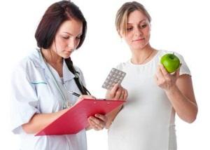 Анемия, гестоз, эрозия при беременности