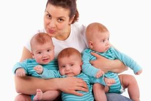 Многоплодная беременность - как появляется?
