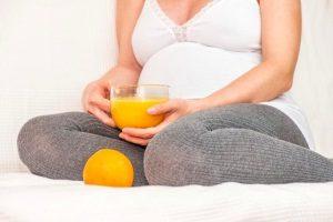 Апельсиновый сок при беременности: польза и вред
