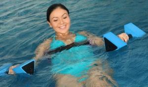 Аквааэробика для беременных: растяжка и упражнения для груди