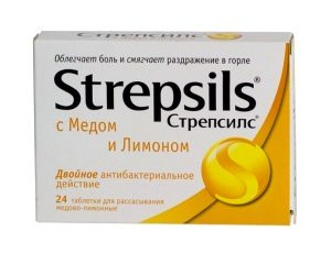 Стрепсилс при беременности: информация о препарате