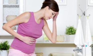 Побаливает живот на ранних сроках беременности