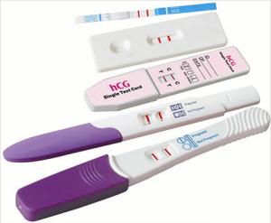 слабая тестовая полоска на тесте на беременность