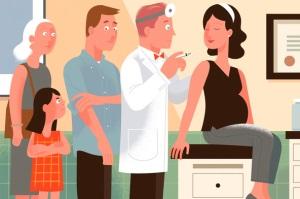 Диагностика и лечение пневмонии во время беременности